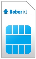 Bober mobile Blue 20GB